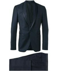 Tagliatore - Shawl Lapel Two-piece Suit - Lyst