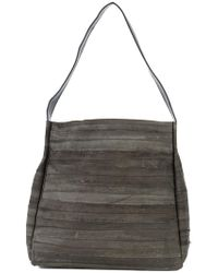 B May - Striped Tote Bag - Lyst