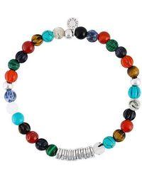 Tateossian - Beaded Bracelet - Lyst