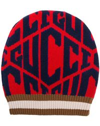 f20e0ed853d Lyst - Gucci Hat With Panther And Kingsnake in Black for Men