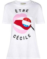 Être Cécile - Graphic Logo T-shirt - Lyst