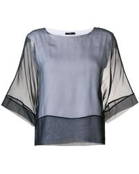 Peserico - Layered T-shirt - Lyst