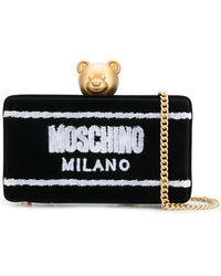 Moschino - Toy Bear Clutch Bag - Lyst