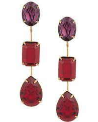 Jennifer Behr - Multicoloured Stone Earrings - Lyst
