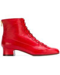L'Autre Chose - Lace Up Ankle Boot - Lyst