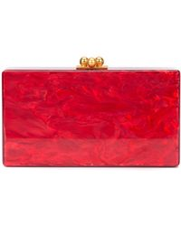 Edie Parker - Marbled Effect Clutch - Lyst