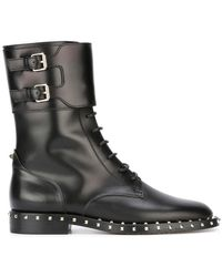 Valentino - Garavani Soul Rockstud Boots - Lyst