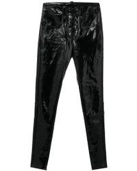 Manokhi - Lace-up leggings - Lyst