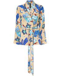 Romance Was Born - Electro Orchid Pyjama Top - Lyst