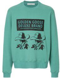 Golden Goose Deluxe Brand - Printed Sweatshirt - Lyst