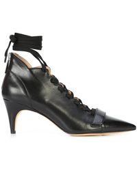 Derek Lam - Montparnasse Lace-up Ankle Bootie - Lyst