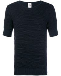 S.N.S Herning - Meta Textured T-shirt - Lyst