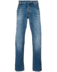 Valentino - Rockstud Embellished Jeans - Lyst