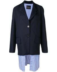 Erika Cavallini Semi Couture - Boxy Blazer Jacket - Lyst