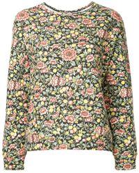 Astraet - Floral Sweatshirt - Lyst