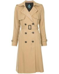 Guild Prime - Double Breasted Trench Coat - Lyst