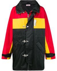 Palm Angels - Colour-block Zipped Coat - Lyst