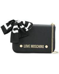Love Moschino - Scarf Bow Crossbody Bag - Lyst