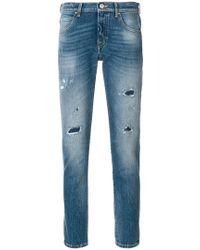 Jacob Cohen - Slim Handkerchief Jeans - Lyst