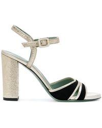 Paola D'arcano | Block Heel Sandals | Lyst