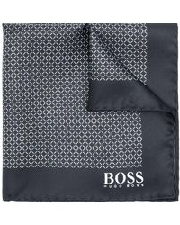BOSS - Printed Pocket Square - Lyst