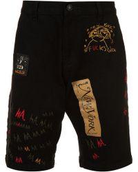 Haculla - Multi Patch Denim Shorts - Lyst