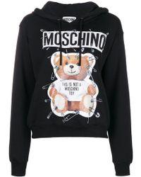 Moschino - Teddy Bear Hoodie - Lyst