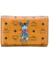 MCM - Rabbit Trifold Wallet - Lyst
