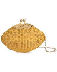 Serpui - Straw Clucth Bag - Lyst