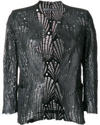 Salvatore Santoro - Textured Jacket - Lyst