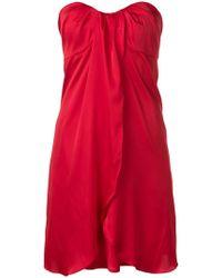 FEDERICA TOSI - Strapless Dress - Lyst
