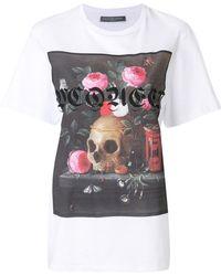 Alexander McQueen - Still Life T-shirt - Lyst