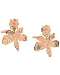 Lele Sadoughi - Paper Lily Earrings - Lyst