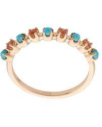 Marlo Laz - Full Circle Ring - Lyst