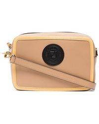 Fendi - Nude Mini Camera Leather Cross-body Bag - Lyst 91699b17f93b3