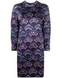 L'Autre Chose - Floral Print Longsleeved Dress - Lyst