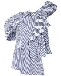 Enfold - Off Shoulder Shirt - Lyst
