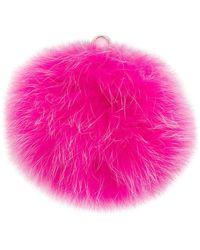 Furla - Bubble Pom Pom Jey Ring - Lyst