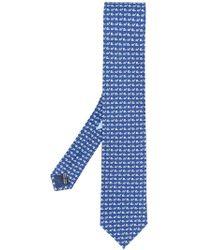 Ferragamo - Snail Mosaic Tie - Lyst