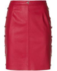 John Richmond - Fitted Mini Skirt - Lyst