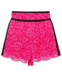 Philosophy Di Lorenzo Serafini - Lace-embroidered Shorts - Lyst
