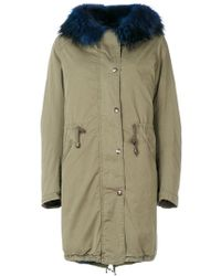 History Repeats - Detachable Collar Parka Coat - Lyst