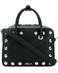 Karl Lagerfeld - Snaps Bowling Tote Bag - Lyst