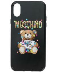 Moschino - Teddy Bear Iphone X Case - Lyst