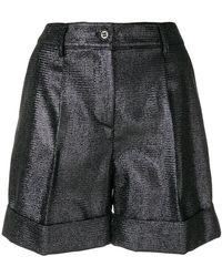 P.A.R.O.S.H. - Turn Up Hem Shorts - Lyst