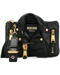 Moschino - Leather Jacket Bag - Lyst