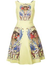Undercover - Printed Sundress - Lyst