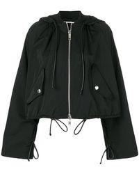 Sportmax | Cropped Parka Jacket | Lyst