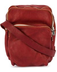 Guidi - Zipped Shoulder Bag - Lyst