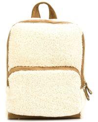 Pierre Hardy - Zipped Fur Backpack - Lyst